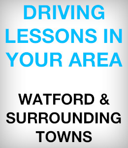 Driving lessons in your area. Watford, Pinner, Borehamwood and more