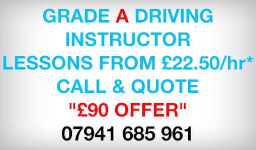 Lessons from £20 per hour. Call today 07941 685961